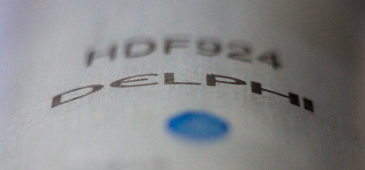 DELPHI — правильный топливный фильтр!